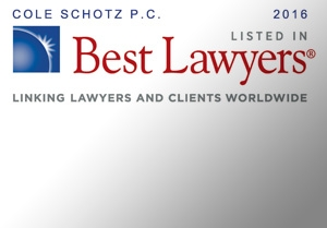 Thirty-Seven Cole Schotz Attorneys Recognized as Top U.S. Lawyers.