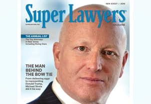 Michael Sirota was featured on the cover story of NJ Super Lawyers